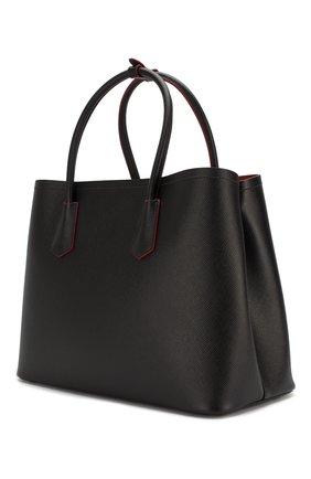 Женская сумка PRADA черного цвета, арт. 1BG756-2A4A-F0LJ4-OOO | Фото 2