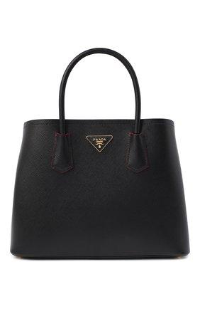 Женская сумка PRADA черного цвета, арт. 1BG775-2A4A-F0LJ4-OOO | Фото 1