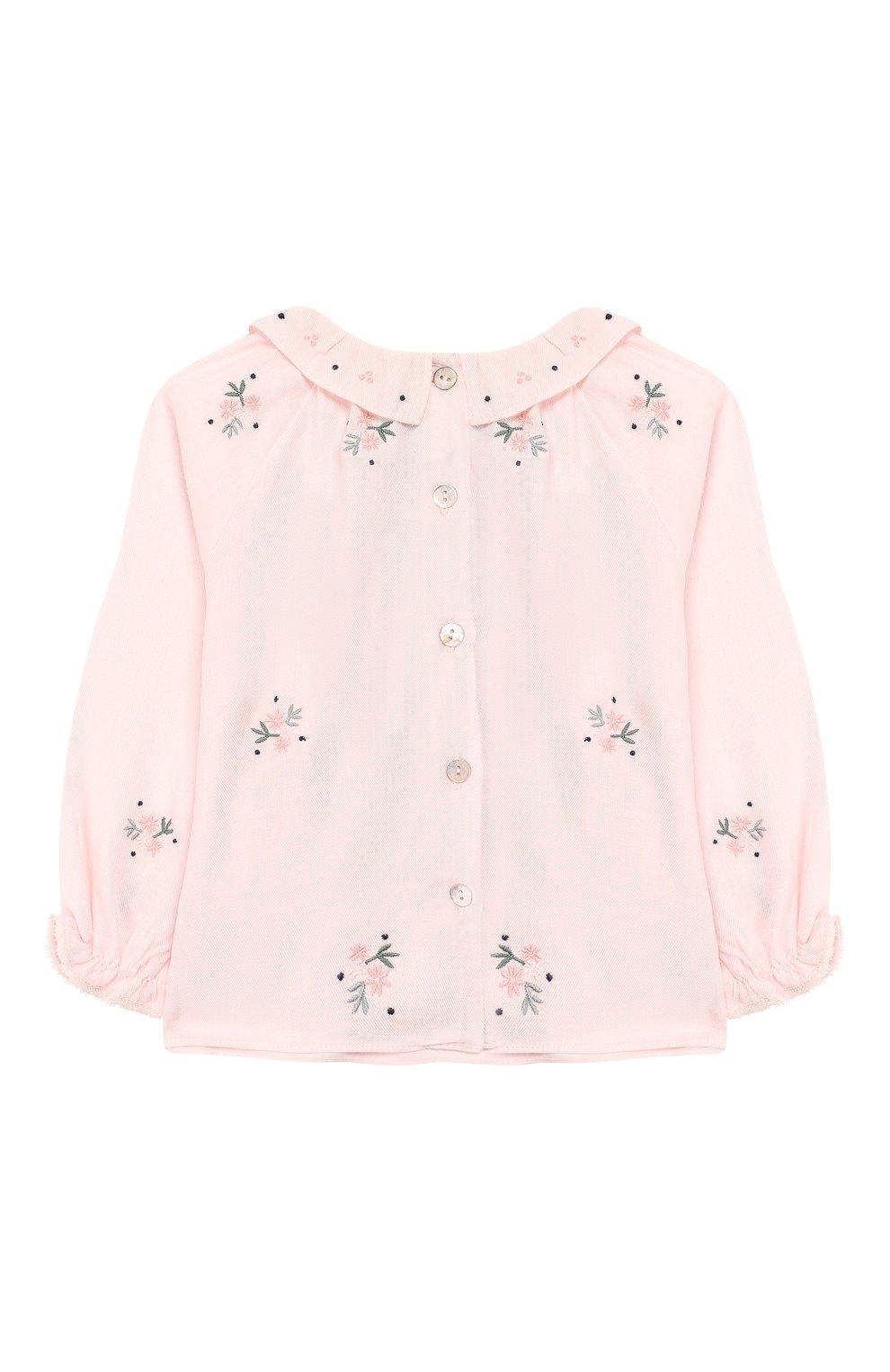 Детский блузка TARTINE ET CHOCOLAT светло-розового цвета, арт. TP12031/1M-1A | Фото 2