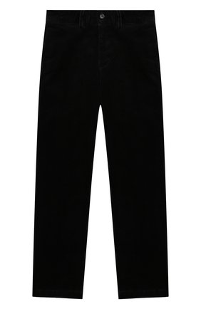 Детские хлопковые брюки POLO RALPH LAUREN черного цвета, арт. 323760254 | Фото 1