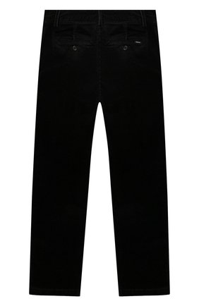 Детские хлопковые брюки POLO RALPH LAUREN черного цвета, арт. 323760254 | Фото 2