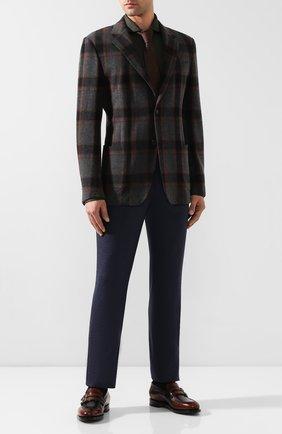 Мужская хлопковая рубашка VAN LAACK хаки цвета, арт. M-PER-LSF_180031_MW-J | Фото 2