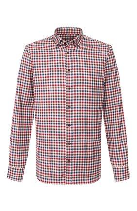 Мужская хлопковая сорочка VAN LAACK бордового цвета, арт. R0Y-SF/156382 | Фото 1
