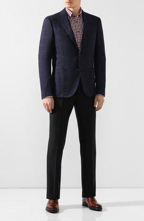 Мужская хлопковая сорочка VAN LAACK бордового цвета, арт. R0Y-SF/156382 | Фото 2