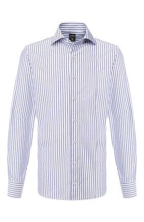 Мужская хлопковая сорочка VAN LAACK синего цвета, арт. MIVARA-SF/151385   Фото 1