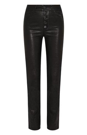 Женские кожаные брюки PAIGE черного цвета, арт. 5490A13-1086 | Фото 1