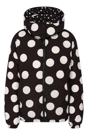 Женский двусторонняя куртка DOLCE & GABBANA черно-белого цвета, арт. F9F41T/HSM04 | Фото 1