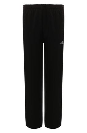 Мужской брюки BALENCIAGA черного цвета, арт. 595007/TTK21 | Фото 1