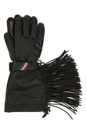Мужские утепленные перчатки 3 moncler grenoble MONCLER GENIUS черного цвета, арт. E2-097-00567-05-54493 | Фото 1
