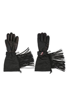 Мужские утепленные перчатки 3 moncler grenoble MONCLER GENIUS черного цвета, арт. E2-097-00567-05-54493 | Фото 2