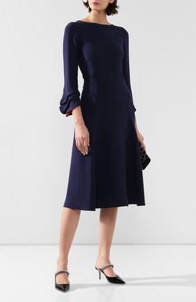 Женское шелковое платье GIORGIO ARMANI разноцветного цвета, арт. 9WHVA038/T0183 | Фото 2