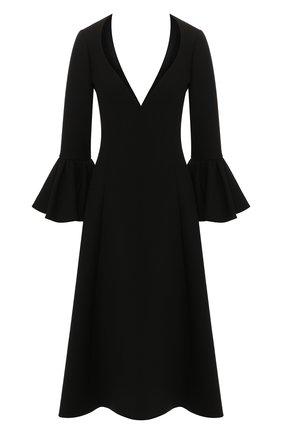 Женское шерстяное платье MARC JACOBS RUNWAY черного цвета, арт. W2190302   Фото 1