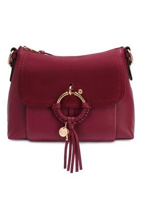 Женская сумка joan small SEE BY CHLOÉ бордового цвета, арт. CHS17US910330 | Фото 1