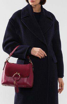 Женская сумка joan small SEE BY CHLOÉ бордового цвета, арт. CHS17US910330 | Фото 2