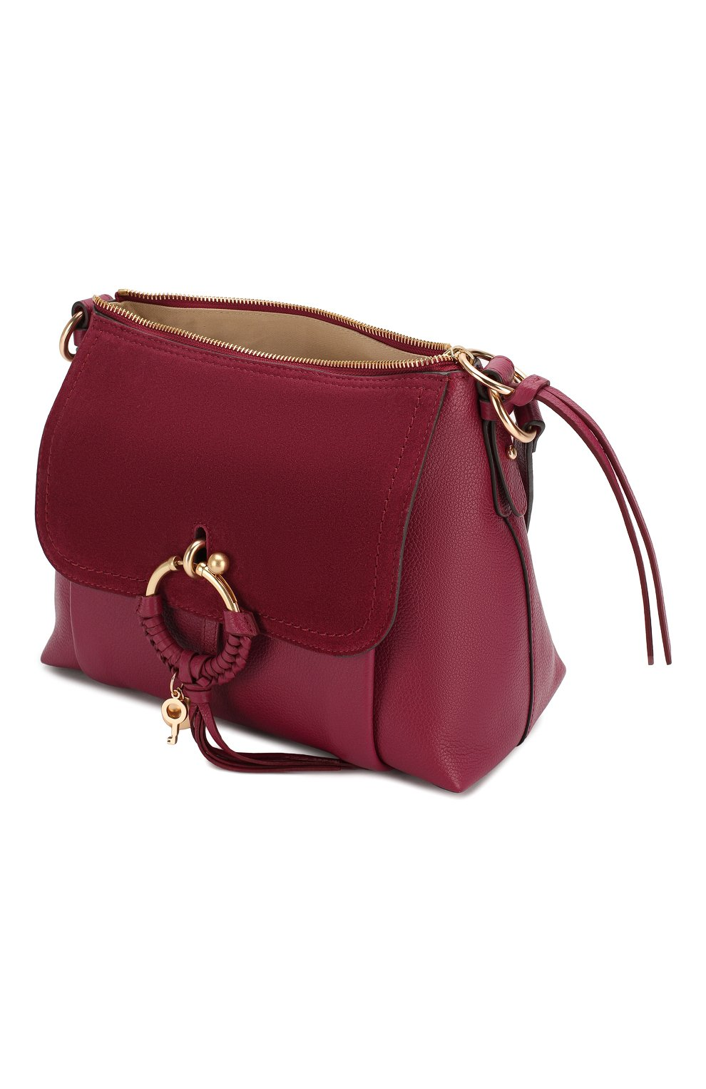 Женская сумка joan small SEE BY CHLOÉ бордового цвета, арт. CHS17US910330 | Фото 4