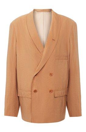 Женский шелковый жакет LEMAIRE светло-коричневого цвета, арт. X 193 JA133 LF208 | Фото 1