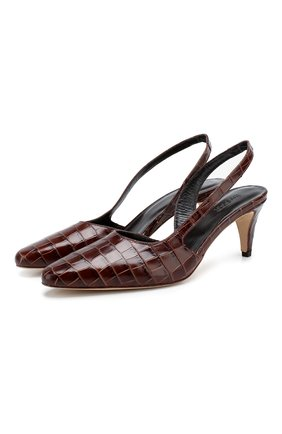 Кожаные туфли Lauren | Фото №1