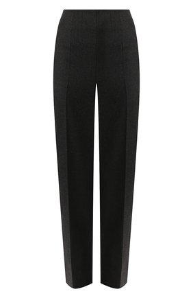 Женские шерстяные брюки MAISON MARGIELA темно-серого цвета, арт. S51KA0465/S52173 | Фото 1