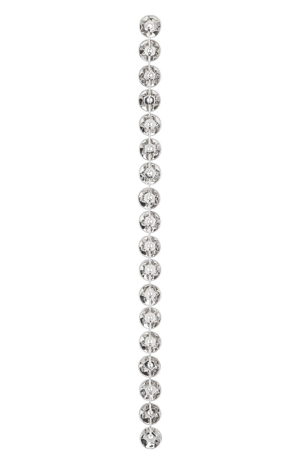Женские моносерьга AVGVST BY NATALIA BRYANTSEVA серебряного цвета, арт. 1005537-01 | Фото 1