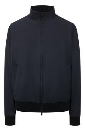 Женская куртка LORO PIANA темно-синего цвета, арт. FAG3121 | Фото 1