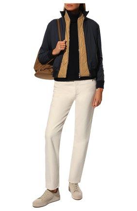 Женская куртка LORO PIANA темно-синего цвета, арт. FAG3121 | Фото 2