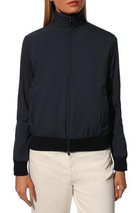 Женская куртка LORO PIANA темно-синего цвета, арт. FAG3121 | Фото 3