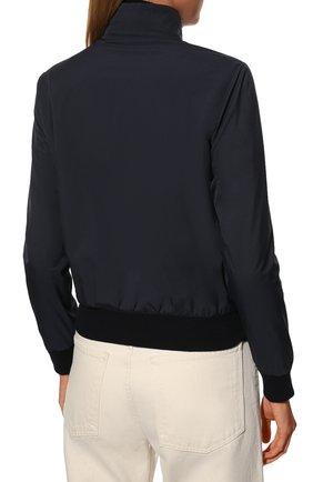 Женская куртка LORO PIANA темно-синего цвета, арт. FAG3121 | Фото 4