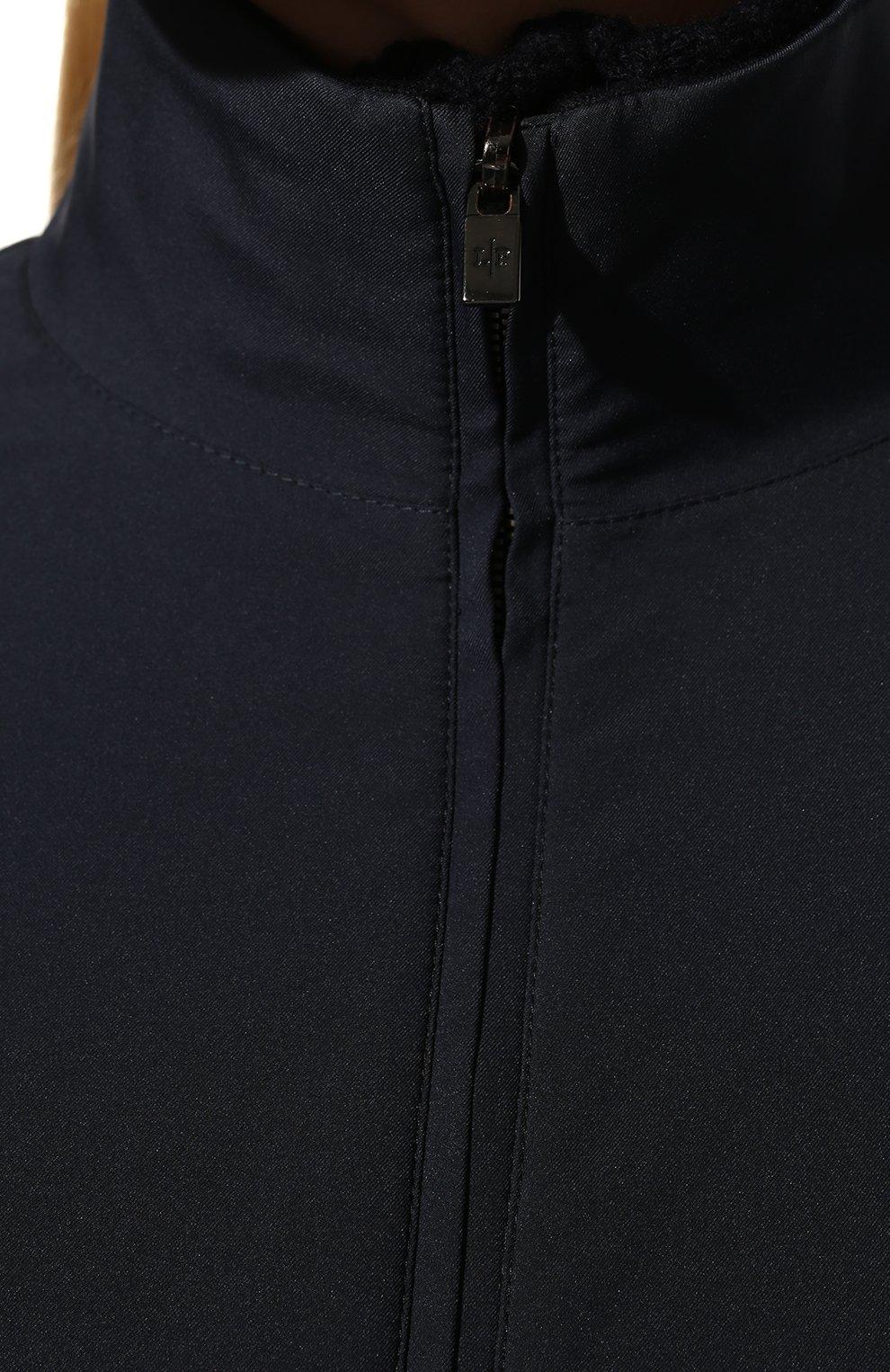 Женская куртка LORO PIANA темно-синего цвета, арт. FAG3121 | Фото 5