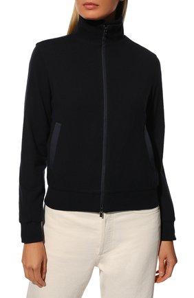 Женская куртка LORO PIANA темно-синего цвета, арт. FAG3121 | Фото 6