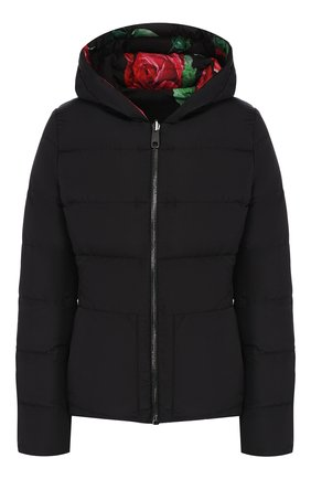 Женский пуховая куртка DOLCE & GABBANA красного цвета, арт. F9G12T/G7TPG | Фото 1