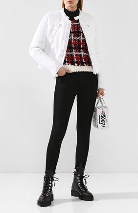 Женская куртка MM6 белого цвета, арт. S62AN0013/S47849 | Фото 2