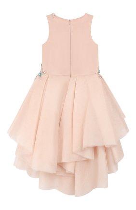 Детское платье MISCHKA AOKI розового цвета, арт. FW19171P/10-12   Фото 2