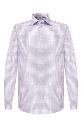Мужская хлопковая сорочка ETON фиолетового цвета, арт. 1000 00403 | Фото 1