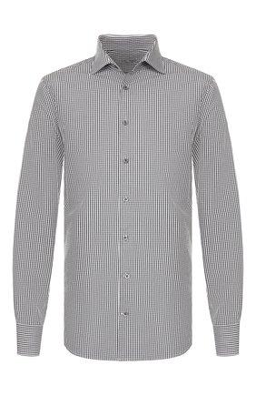 Мужская хлопковая сорочка VAN LAACK темно-серого цвета, арт. RIVARA-SF/151011 | Фото 1