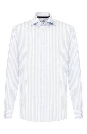 Мужская хлопковая рубашка VAN LAACK голубого цвета, арт. RIVARA-BTF/156264   Фото 1