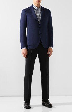 Мужская хлопковая рубашка VAN LAACK синего цвета, арт. R0Y-SF16/156260   Фото 2