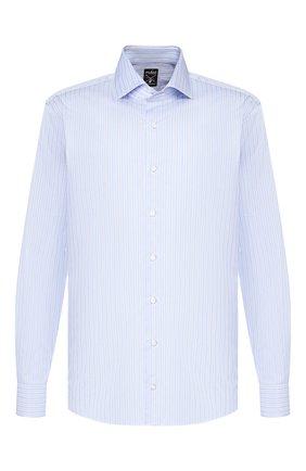 Мужская хлопковая сорочка VAN LAACK голубого цвета, арт. MIVARA-TF/161893 | Фото 1