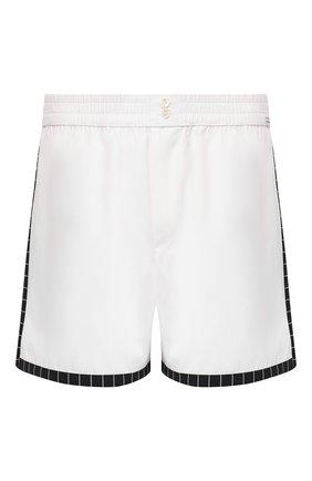 Женские хлопковые шорты DOLCE & GABBANA белого цвета, арт. 03A26T/FU6S8 | Фото 1