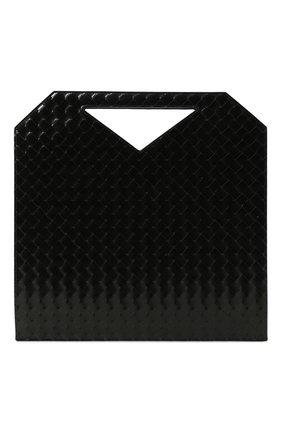 Мужская кожаная сумка-тоут BOTTEGA VENETA черного цвета, арт. 592782/VMBI0 | Фото 1