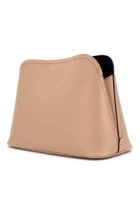 Женская сумка matinée PRADA бежевого цвета, арт. 1BA251-2ERX-F0UDW-OOO | Фото 2