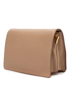 Женская сумка PRADA бежевого цвета, арт. 1BD102-2BBE-F0770-NOM | Фото 2