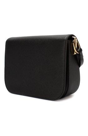 Женская сумка embleme PRADA черного цвета, арт. 1BD217-NZV-F0002-OUO | Фото 2