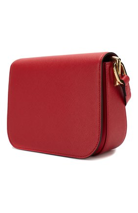 Женская сумка embleme PRADA красного цвета, арт. 1BD217-NZV-F068Z-OUO | Фото 2