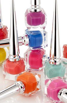 Лак для ногтей the pops, оттенок miss loubi (13ml) CHRISTIAN LOUBOUTIN бесцветного цвета, арт. 810413020300 | Фото 3 (Ограничения доставки: flammable)