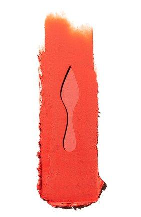 Женская матовая помада для губ velvet matte, оттенок triluna CHRISTIAN LOUBOUTIN бесцветного цвета, арт. 8435415029506 | Фото 2