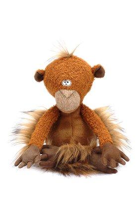 Детского коллекционная игрушка обезьяна SIGIKID коричневого цвета, арт. 38741 | Фото 1