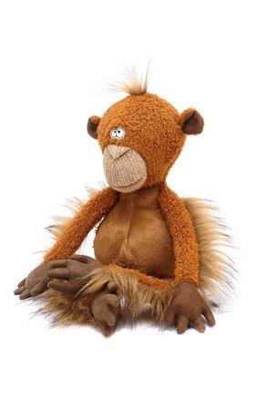 Детского коллекционная игрушка обезьяна SIGIKID коричневого цвета, арт. 38741 | Фото 2