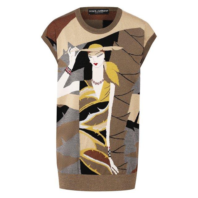 Шерстяной жилет Dolce & Gabbana