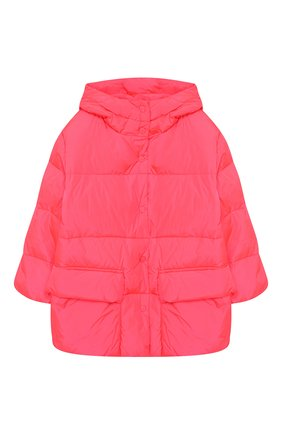 Детского пуховая куртка с капюшоном FREEDOMDAY розового цвета, арт. IFRJG4241U-121-RD | Фото 1