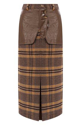Шерстяная юбка   Фото №1